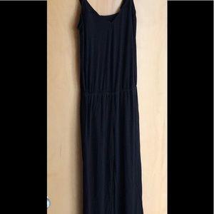 Splendid Intimates black one-piece jumpsuit size S